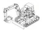 Thumbnail Takeuchi TB153FR Compact Excavator Parts Manual DOWNLOAD(15820004 - and up)