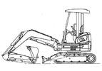 Thumbnail Fiat Kobelco E30SR E35SR EVOLUTION Exavator Service Repair Workshop Manual Download