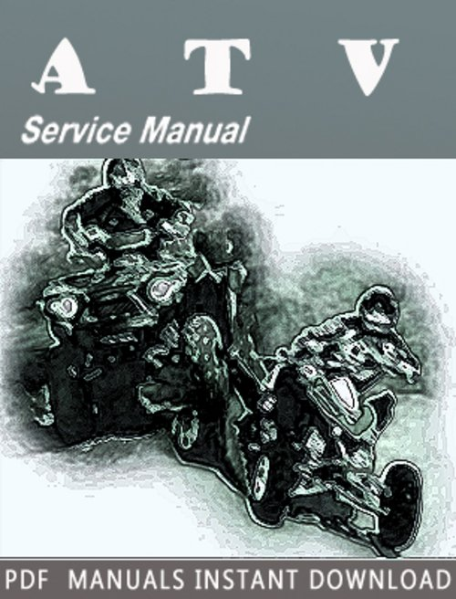 Pay for 2007 Arctic Cat Prowler / XT ATV Service Repair Manual Downl