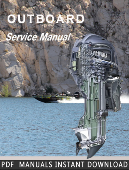 yamaha f20a f25a f25x outboards service repair manual download english french german spanish