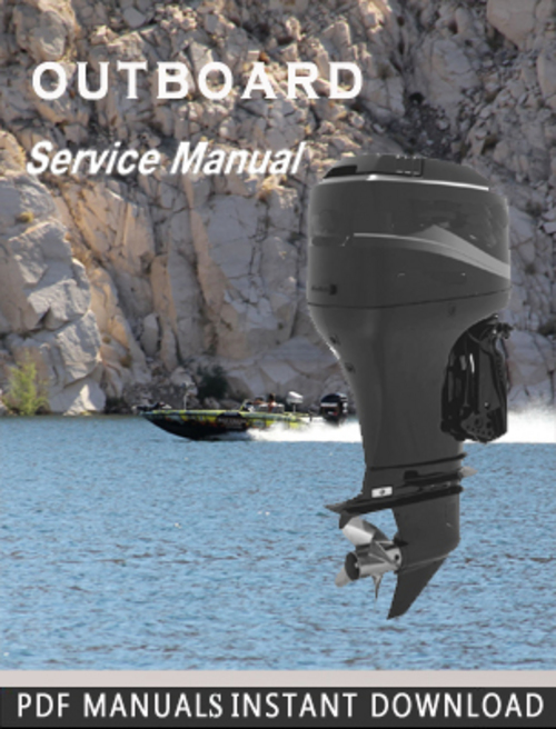 Free Mercury  Outboard 50 / 60 4-STROKE  Factory Service manual Download thumbnail