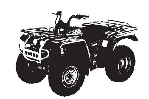 Pay for Yamaha YFM400,YFM400FW,YFM40FPM,YFM40FPP ATV Service Repair Manual Download
