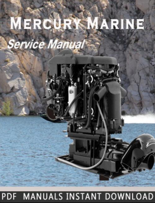 mercury marine 210    240 hp m 2 jet drive service repair