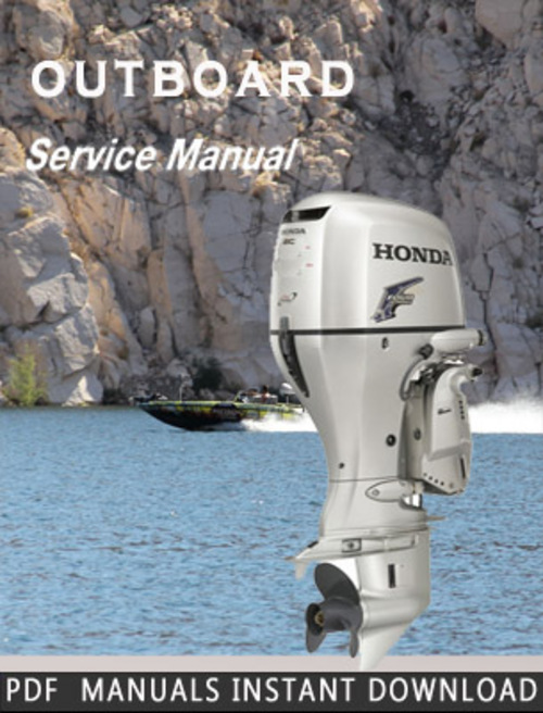 free honda bf100 outboard service manual