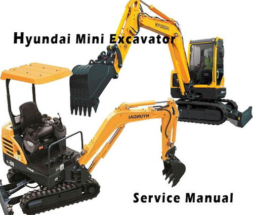 Pay for Hyundai Robex 35Z-7A R35Z-7A Mini Excavator Service Repair Manual Download