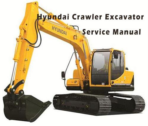 Pay for Hyundai R55-9 Crawler Excavator Service Repair Manual