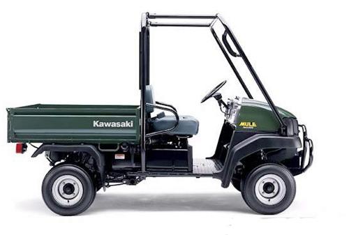 2009-2012 Kawasaki MULE 4010 Diesel Service Repair Manual