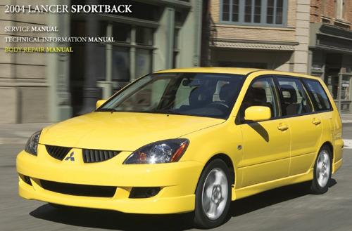 2004 Mitsubishi Lancer Sportback Service Repair Manual