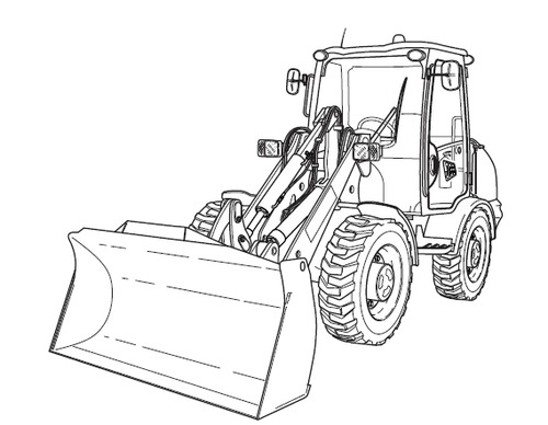 Jcb 410 412 415 420 425 430 Wheeled Loader Service Repair