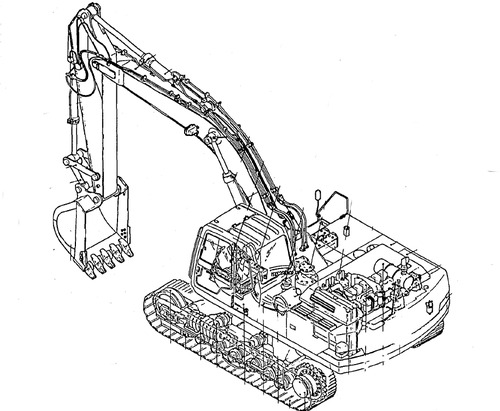 Pay for Kobelco SK16 SK17 Hydraulic Excavator Service Repair Shop Manual Download