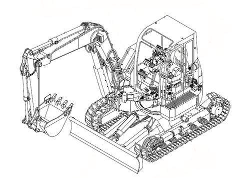 Pay for Takeuchi TB20R/TB23R Compact Excavator Parts Manual DOWNLOAD(12300007 - and up)