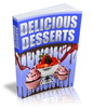 Thumbnail Delicious Desserts Recipes (PLR, MRR,RR,PU)