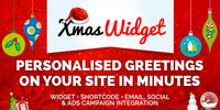 Thumbnail Xmas Widget - WordPress Plugin