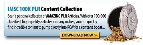 Pay for IMSC 100k PLR Article Collection