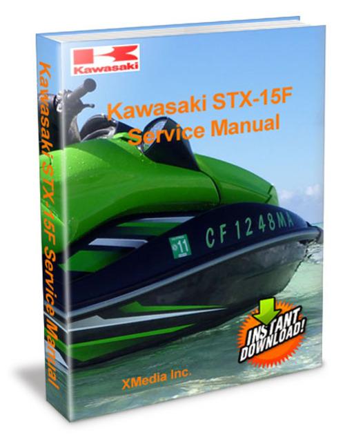 Kawasaki Stx-15f Service Manual