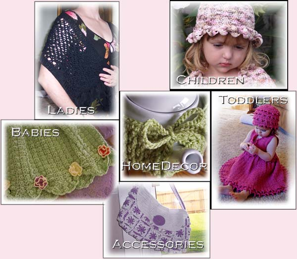 """Guide to Free Crochet Patterns eBook"" 