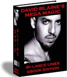 Pay for DAVID BLANE MEGA MAGIC 120 CARD TRICKS AND STREET MAGIC