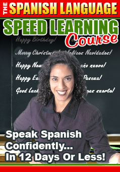 Pay for LEARN HOW TO SPEAK SPAINISH QUICKLY COURSE, EBOOKS, WITH FREE BONUS AUDIO