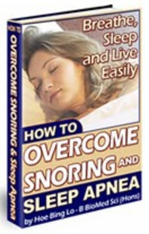 Pay for How To Overcome Snoring and Sleep Apnea