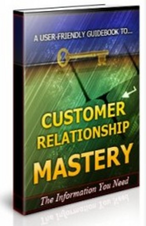 Pay for Customer Relationship Mastery