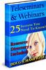 Thumbnail Teleseminars & Webinars... 25 Secrets You NEED To Know!