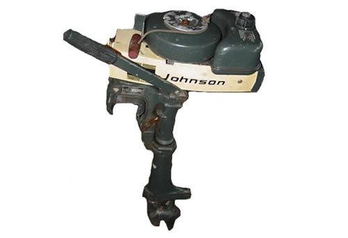 1922 1964 johnson evinrude outboard motor repair manual for Johnson outboard motor maintenance