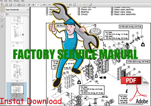 Yamaha outboard motor tune up manual 1984 2005 for Yamaha motor credit card