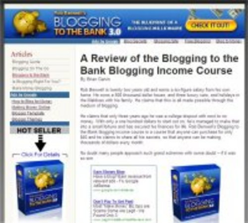 Pay for 47 Ready Make Clickbank Websites-Adsense Optimized