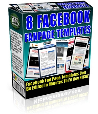 Pay for FaceBook FanPage Templates_PLR
