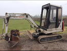 Thumbnail Takeuchi TB020 Compact Excavator Service Repair Factory Manual Instant Download