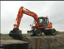 Thumbnail Daewoo Doosan DX140W DX160W Wheel Excavator Operation and Maintenance Manual Instant Download