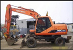 Thumbnail Daewoo Doosan Solar 140W-V, Solar 160W-V Wheel Excavator Operation and Maintenance Manual Instant Download