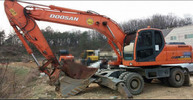 Thumbnail Daewoo Doosan DX210W Wheel Excavator Service Repair Manual Instant Download
