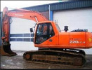 Thumbnail Daewoo Doosan Solar 220LC-V Excavator Service Repair Manual Instant Download