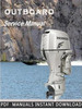 Thumbnail Marine Outboard BF20 BF2A Service Repair Manual Instant Download
