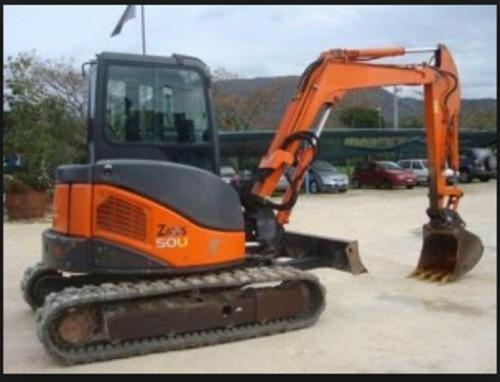 Pay for Hitachi Zaxis 40U 50U Excavator Service Repair Manual Instant Download