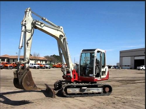 Takeuchi Tb070 Compact Excavator Service Repair Factory