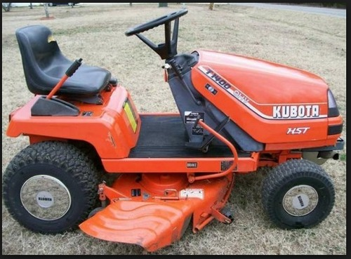 Kubota Lawn Tractor >> Kubota T1400 T1400h Lawn Tractor Service Repair Manual Instant Download