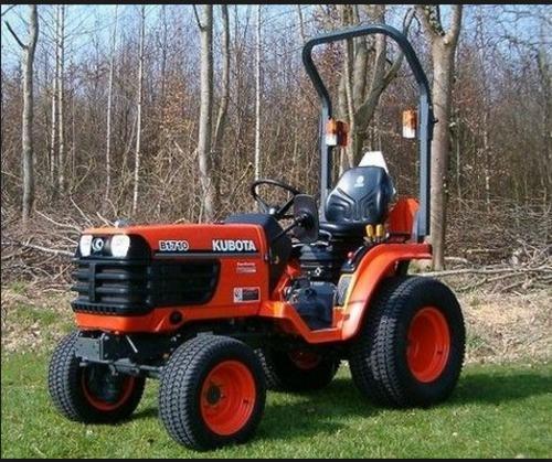 pay for kubota b1710 b2110 b2410 b2710 tractor service repair manual  instant download