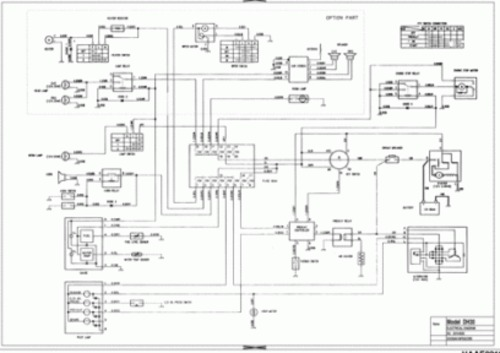 Pay for Doosan SOLAR 450-III Excavator Electrical Hydraulic Schematics Manual INSTANT DOWNLOAD