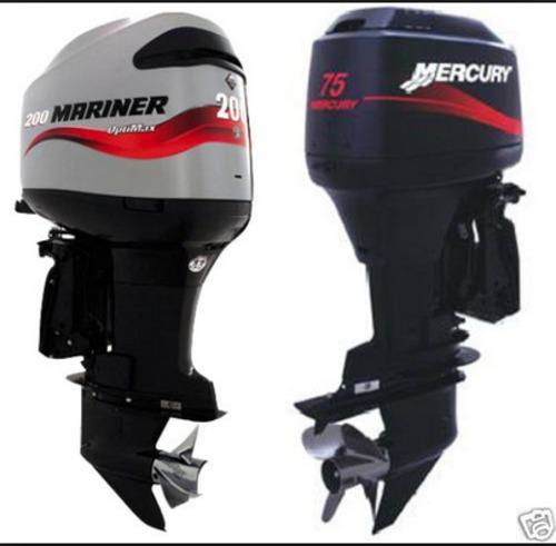 Mercury Mariner Outboard 65jet 80jet 75 90 100 115 125 Hp Manual Guide