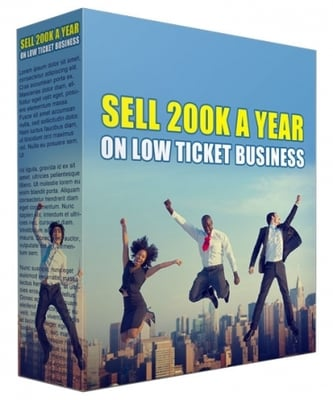 Pay for Sell 200K a Year in Low Ticket Business