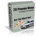 Thumbnail Twenty Ways To Promote Your Site