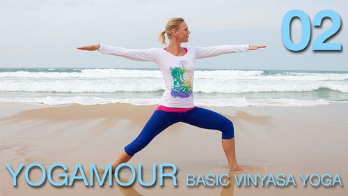 Pay for YOGAMOUR 02 - Basic Vinyasa Yoga Video