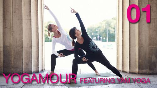 Pay for YOGAMOUR 01 - Vinyasa Yoga Video Anleitung