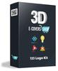 Thumbnail  123 Logo Kit 38 PSD Logos
