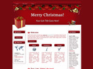 Thumbnail Theme For Christmas HTML Template