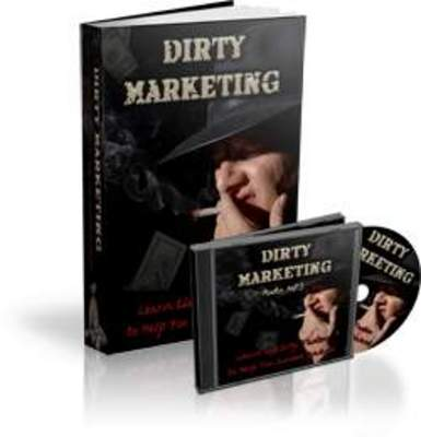 Pay for Dirty Marketing eBook and Audio with MRR
