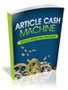 Thumbnail Article Cash Machine eBook PLR/RS