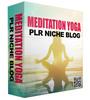 Thumbnail Niche Blog For Meditation And Yoga